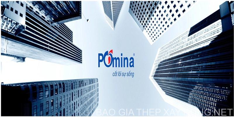 Bảng báo giá thép Pomina tháng 1/2019