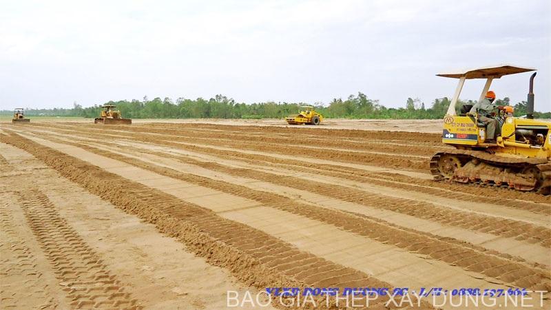 San lấp mặt bằng tại công trình - Nhận báo giá cát san lấp mặt bằng tại TPHCM - Call : 0888.197.666