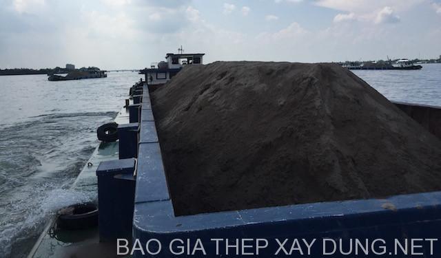 Giá cát xây dựng tăng gắp đôi tại tphcm