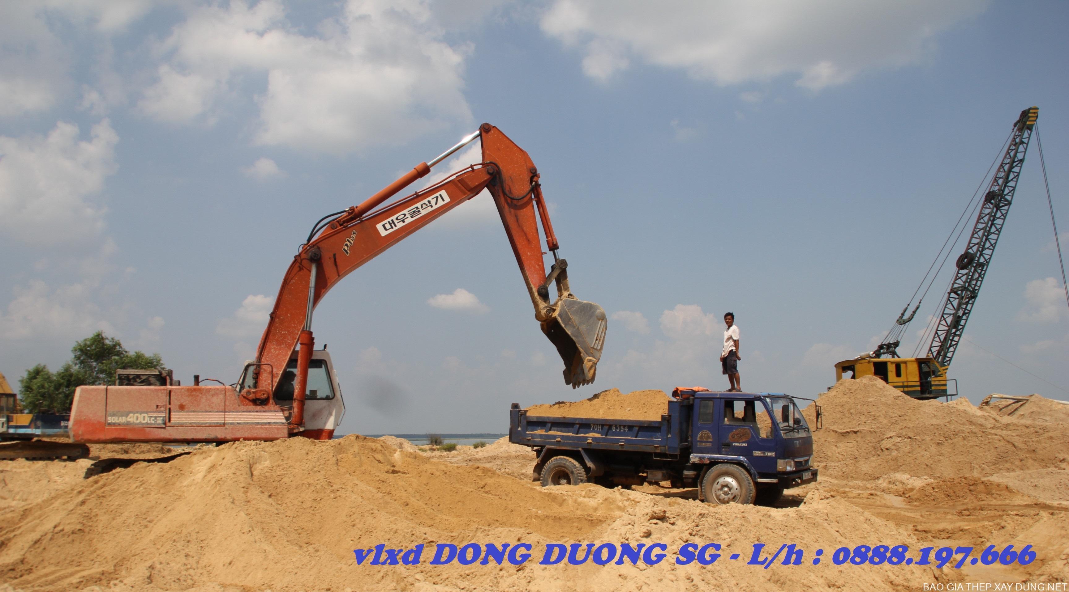Cung cấp báo giá cát xây tô giá rẻ