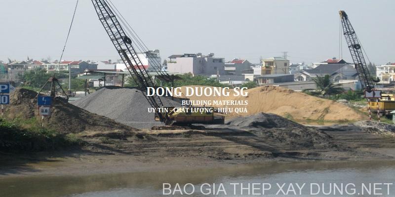 Báo giá cát đá xây dựng hàng ngày tại ĐÔNG DƯƠNG SG