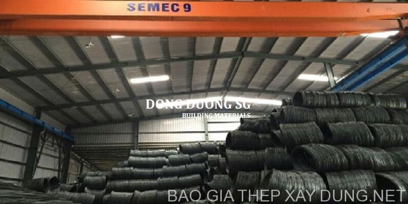 Cửa hàng sắt thép xây dựng tại quận Bình Tân TPHCM