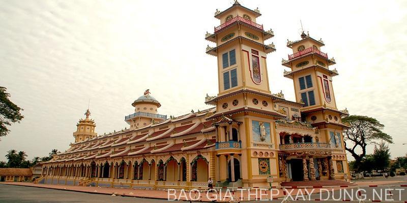 Công trình tòa thánh Tây Ninh