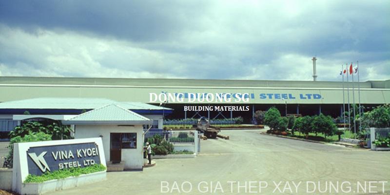 đại lý phân phối thép xây dựng việt nhật Đông Dương SG