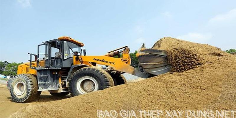 Giá cát bê tông hôm nay