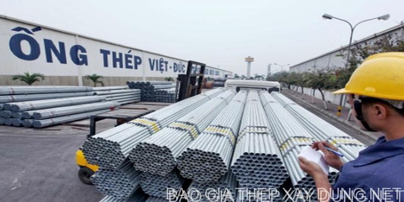 Ống thép Việt Đức - Báo giá thép ống Việt Đức