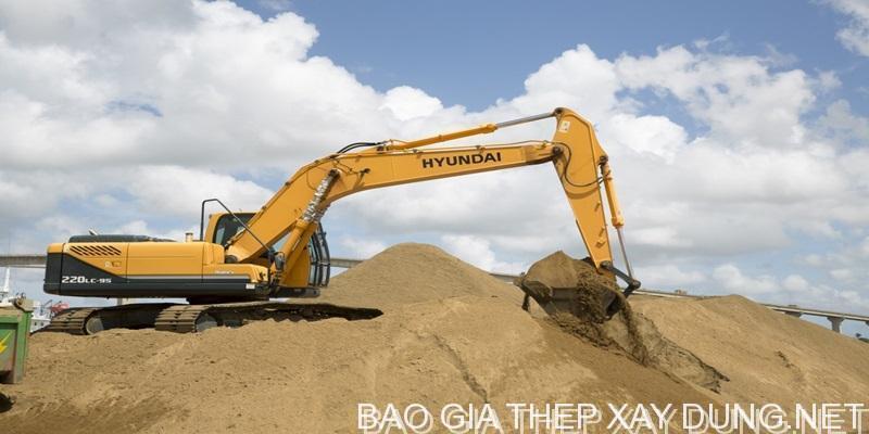 Đơn giá cát xây mới nhất hôm nay được cập nhật liên tục, cát đạt chất lượng và tiêu chuẩn xây dựng
