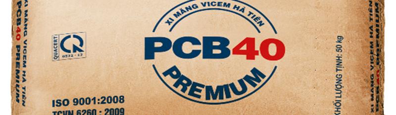 Xi măng vicem hà tiên PCB40