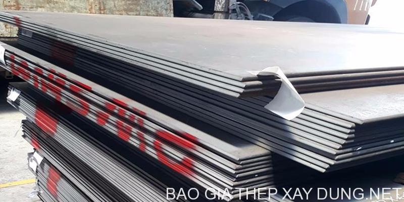 Giá thép tấm SS40 hay còn gọi tên đầy đẩu là báo giá thép tấm mác SS400 là sản phẩm điển hình do chúng tôi cung cấp