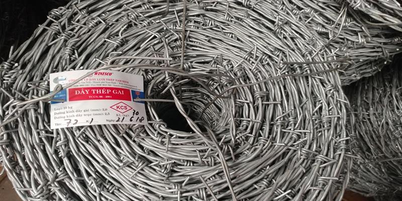 Báo giá dây kẽm gai, lưới B40 tại Nghệ An