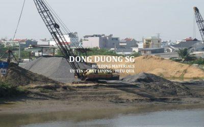 Bảng báo giá cát đá xây dựng tháng 9 năm 2017