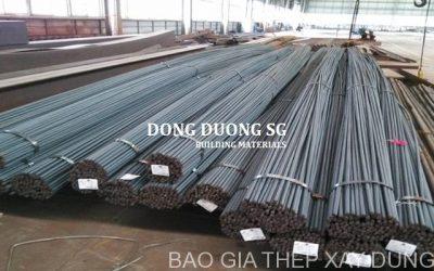 Báo giá sắt thép Việt Nhật sỉ & lẻ mới nhất năm 2019