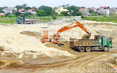 Thị trường vật liệu xây dựng phía Nam- 'Nóng' theo giá đất