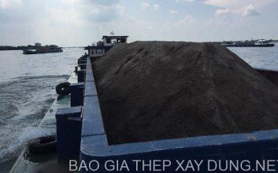Cát san lấp, cung cấp cát san lấp số lượng lớn bằng xà lan, xe ben