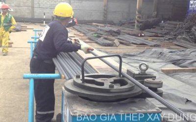 Gia công sắt thép xây dựng theo quy cách : sắt cuộn, sắt cây