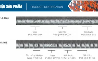 Bảng baren đơn trọng thép xây dựng Posco chính xác nhất