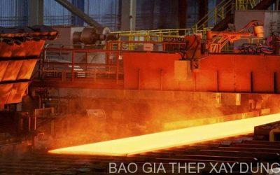 Giá thép xây dựng hôm nay (1/10) giảm mạnh trước kỳ vọng Trung Quốc tăng sản lượng