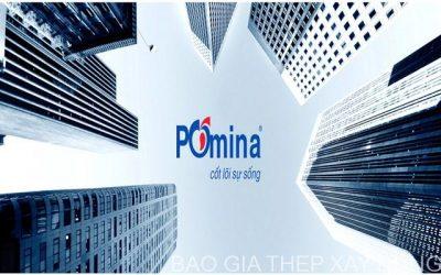 Bảng báo giá thép Pomina tháng 4/2019